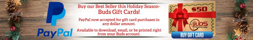 Buy Buds Gift Cards this Holiday Season
