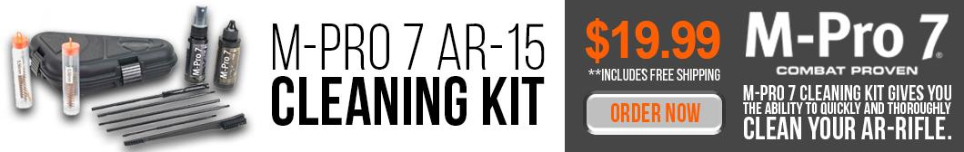 Dirty AR? Clean it up with the M-Pro 7 AR-15 Cleaning Kit