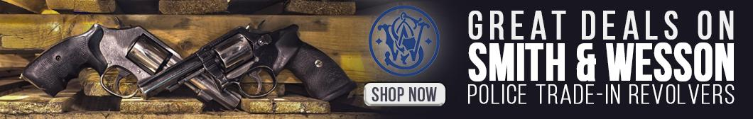 Great Deals on Smith & Wesson Trade In Revolvers