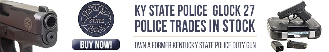 Kentucky State Police Trade-in Glock 27 40s&w - Own a Former Kentucky State Police Duty Gun!