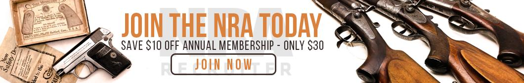 Join the NRA at BudsGunShop.com and SAVE $10 off annual membership! NRA Annual Membership $30!