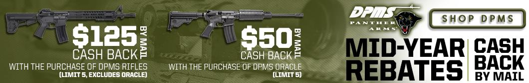 DPMS Rebate - Up to $125 cash back with purchase of DPMS Rifles