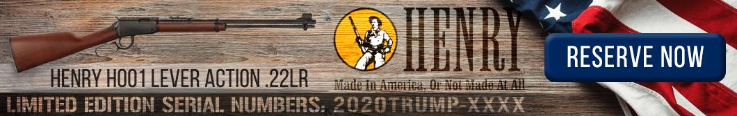 2020Trump Henry H001 Lever Action .22LR