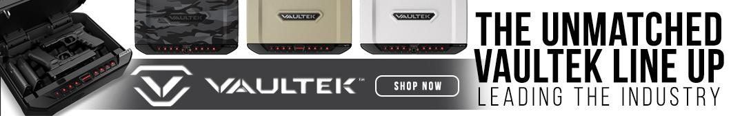 Vaultek biometric handgun safes from BudsGunShop.com