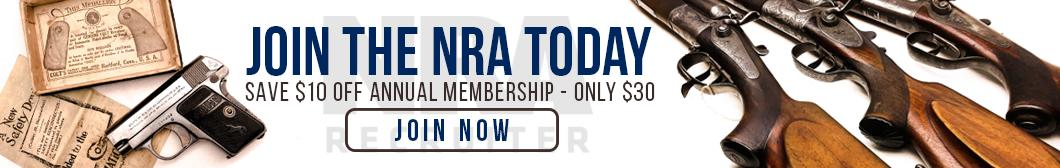 Join the NRA today at BudsGunShop.com and SAVE $10 off annual membership. Only $30!