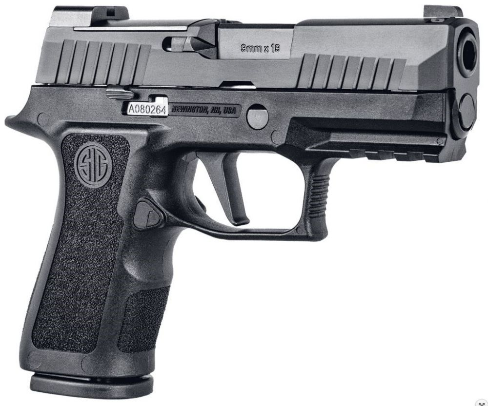 Sig Sauer P320 XCompact 9mm 3 6