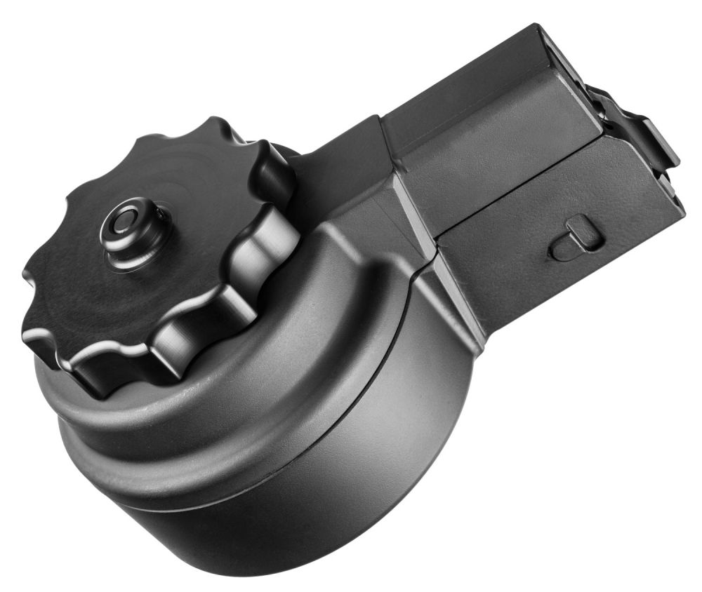 AR  308 High Cap Drum Magazine Friction Reducing Ceramic Coating