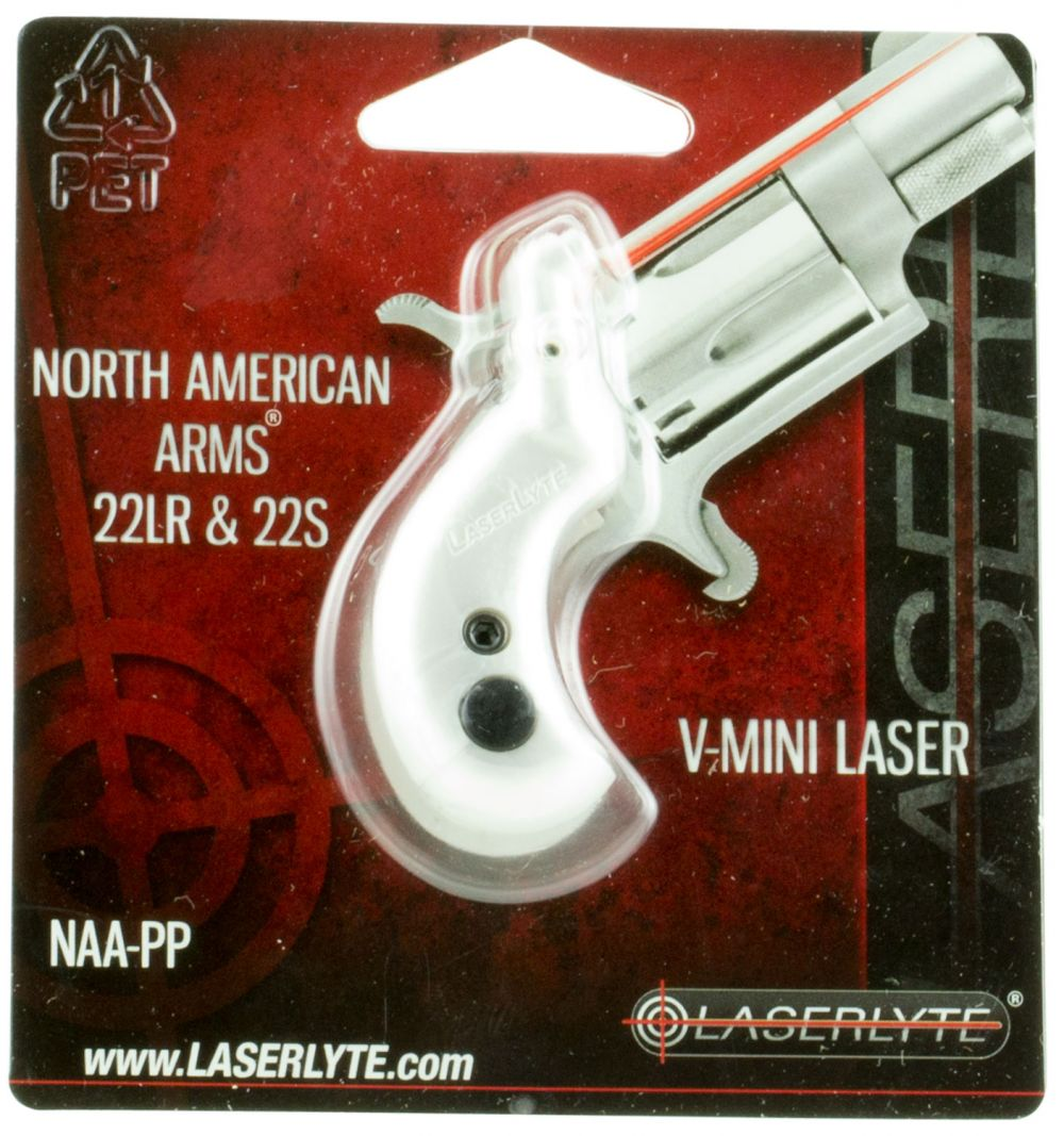 LaserLyte NAAPPP NAA V-Mag Grip Laser Training Revolver Silver/Pink