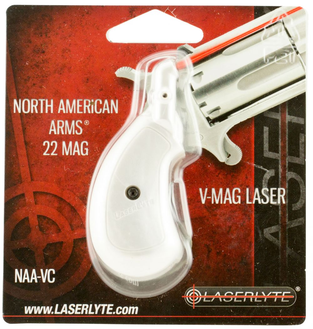 LaserLyte NAAVCW NAA VCW Grip Laser Training Revolver Silver/White