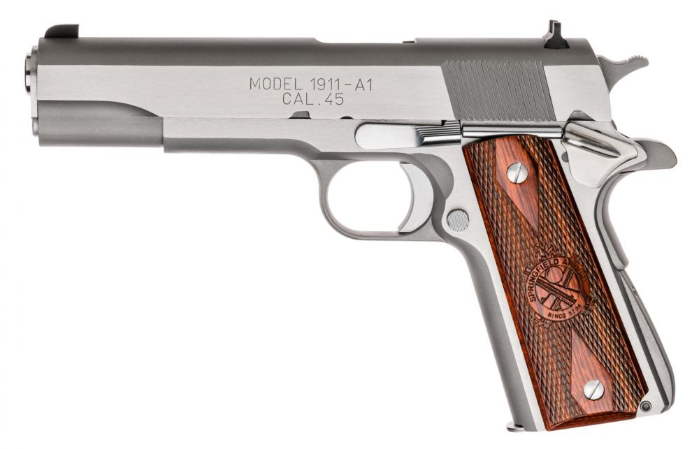 Springfield Armory MILSPEC Stainless Steel  45ACP