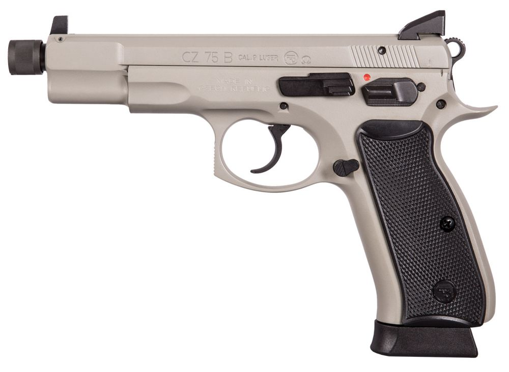 CZ-USA CZ75B OMEGA GREY 16RD NS