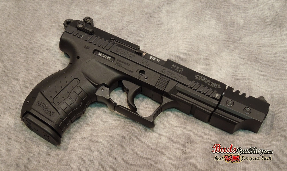 used Walther P22 5 inch