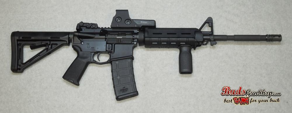 used Bushmaster AR-15 MOE Eotech