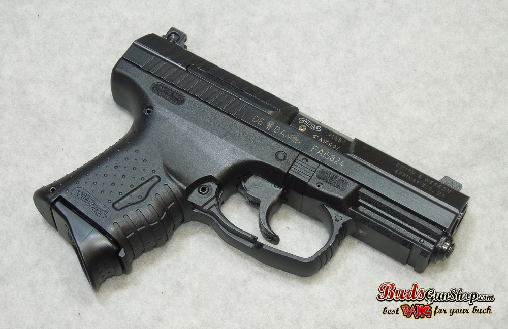 used walther p99 compact 40 night sights 45600