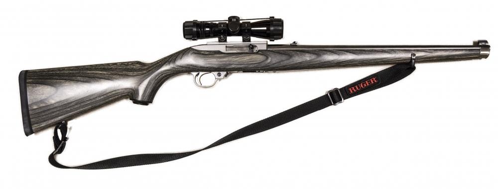 Used Ruger 10 22 Ss Mannlicher 536703 Buds Gun Shop