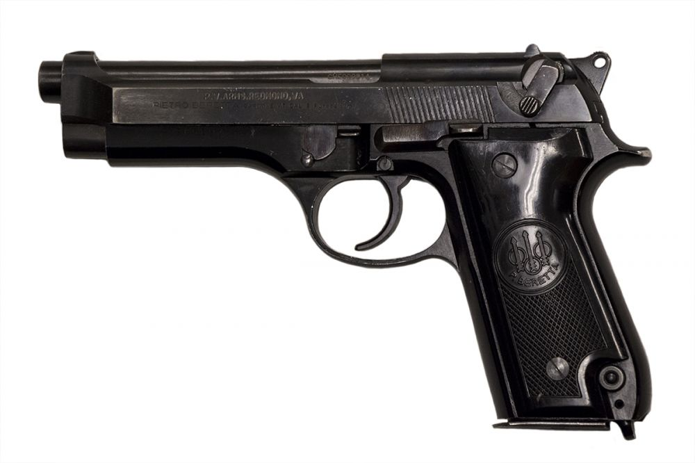 Used Beretta 92S Italian Police 15+1 9mm 4 9