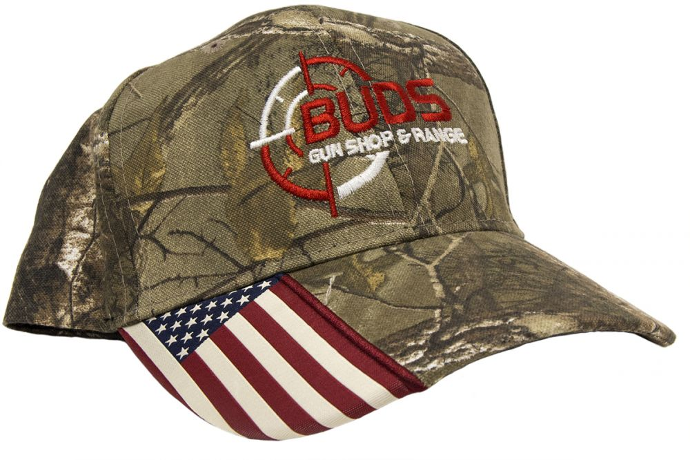 Kahr Gray Camo Baseball Cap Hat
