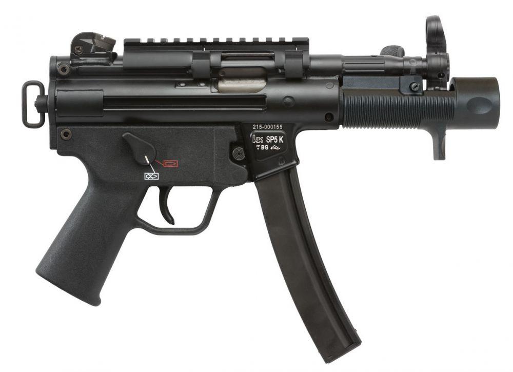 HK Heckler & Koch SP5K 9mm 30+1