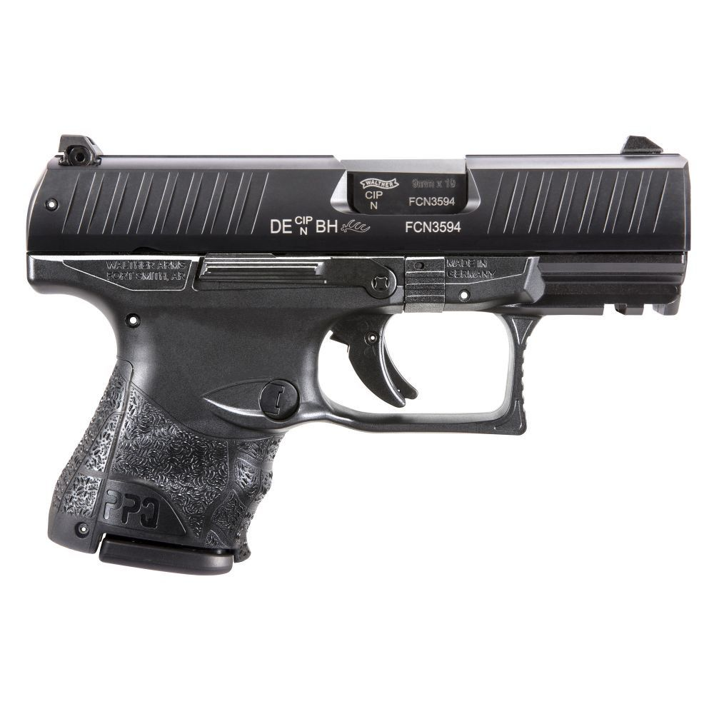 Walther PPQ M2 SC 9mm Black LE 3 Mags Night Sights
