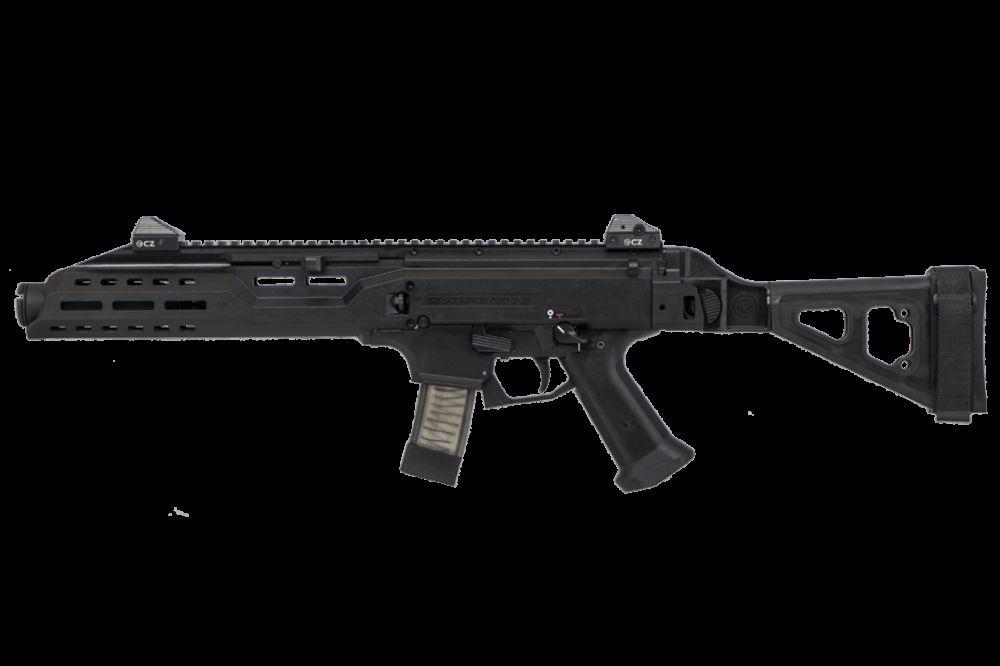 CZ Scorpion Evo 3 S1 9mm Pistol Black w/SB Tactical Brace