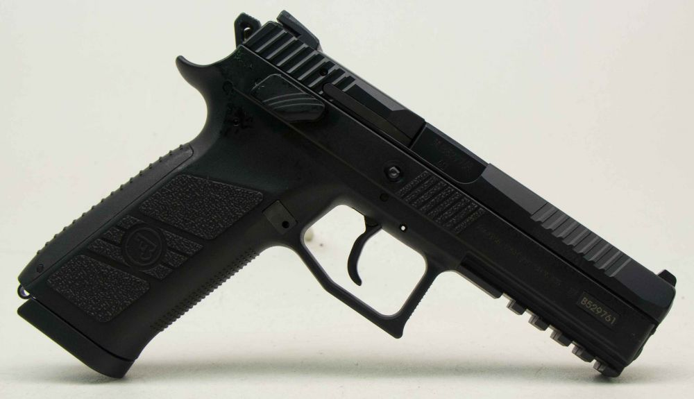used CZ P-09  40 Night Sights