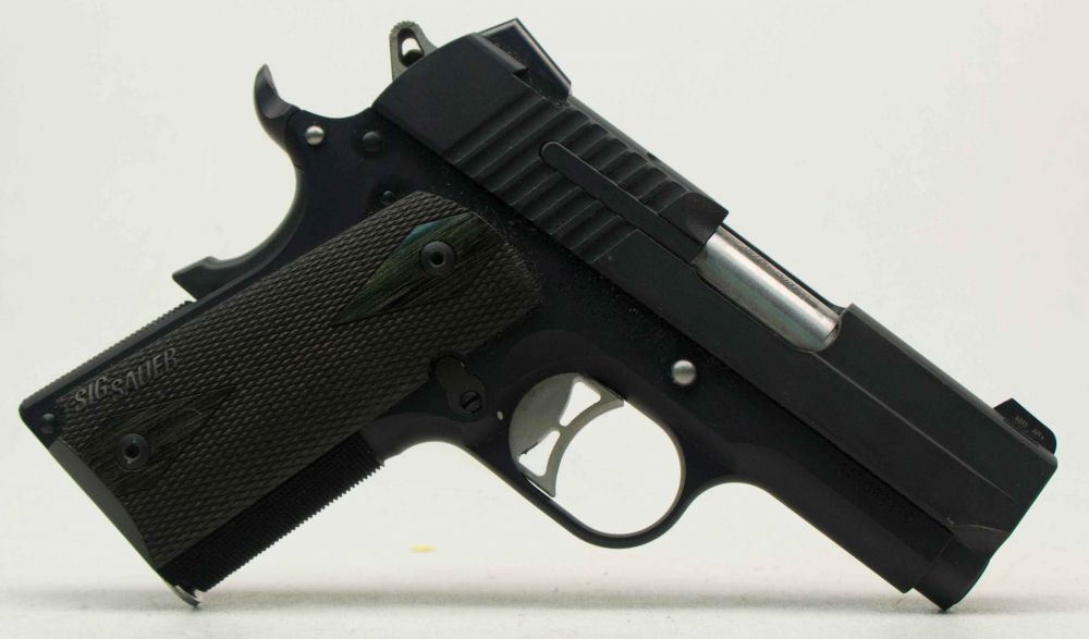 used Sig Sauer 1911 Ultra Compact  45