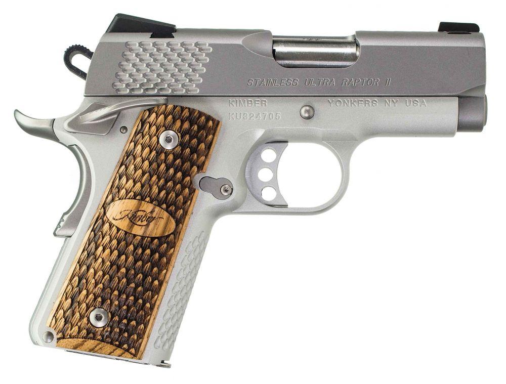 used Kimber Ultra Raptor II Stainless 9mm