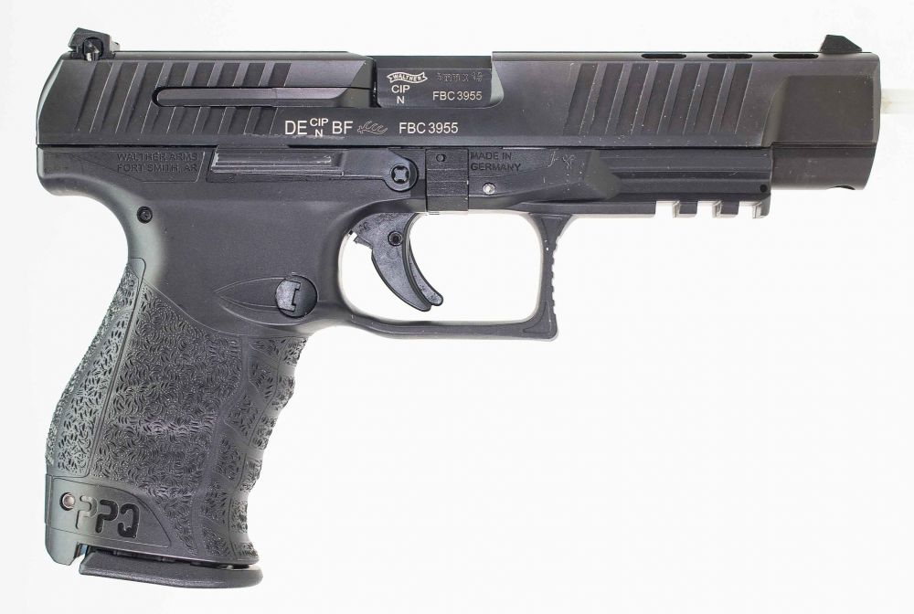 used Walther PPQ M2 9mm 5 Inch