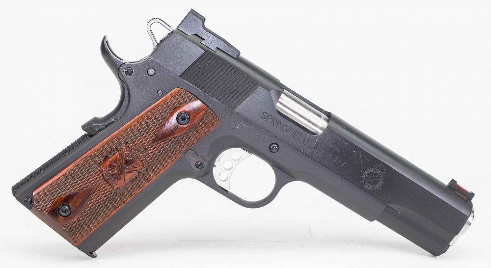 used Springfield Range Officer  45 Custom Sights