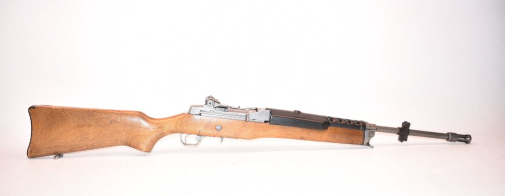 Ruger Mini-14  223 Stainless Wood Stock