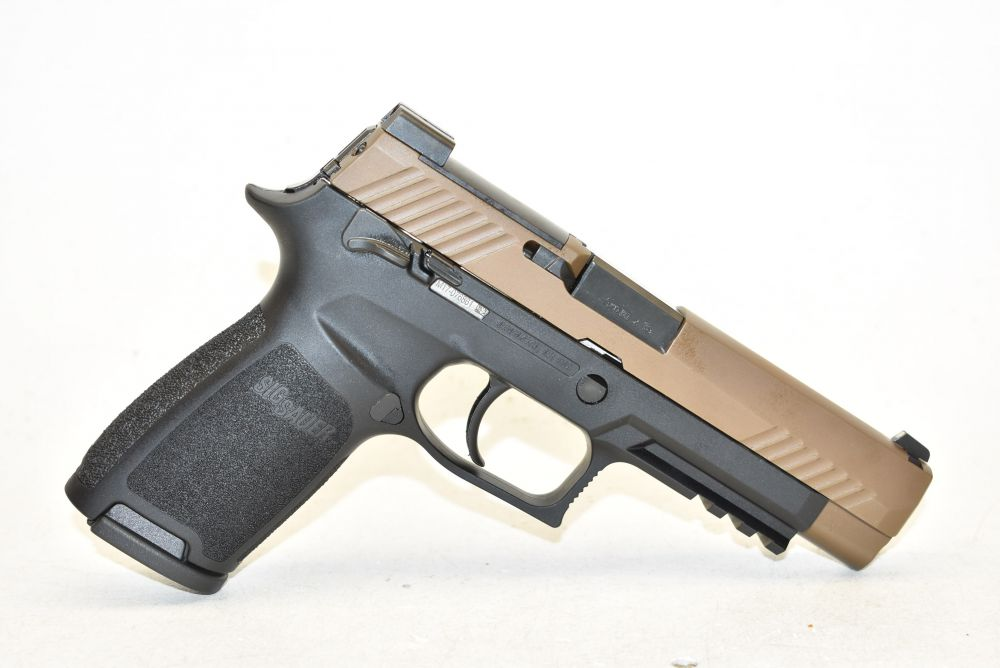 used Sig Sauer P320 M17 9mm 2 Tone