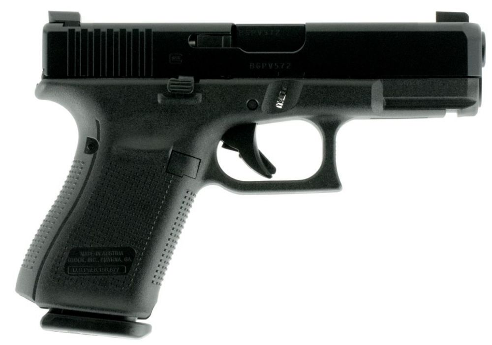 Glock G19 Gen 5 9mm 15+1 AmeriGlo NS (PA1950303AB)