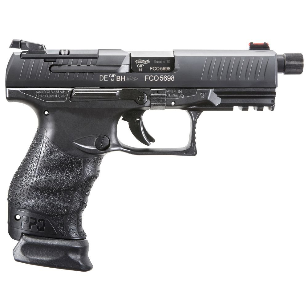 Walther PPQ M2 Q4 Tactical 9mm 17+1 Threaded