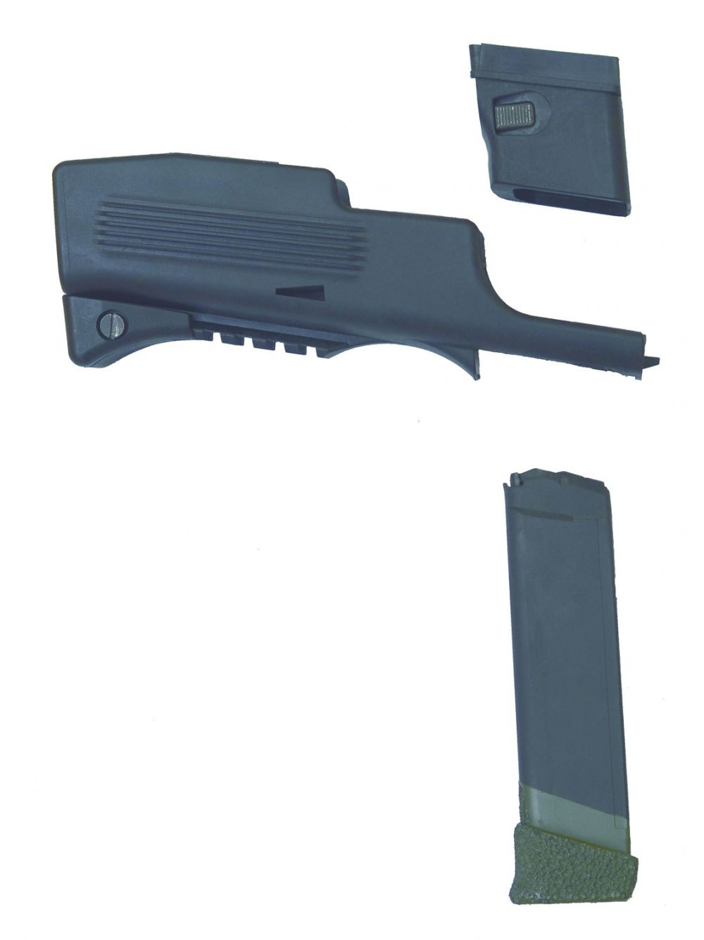 Chiappa Firearms 970446 for Glock Multiple Mag Adaptor Black Finish