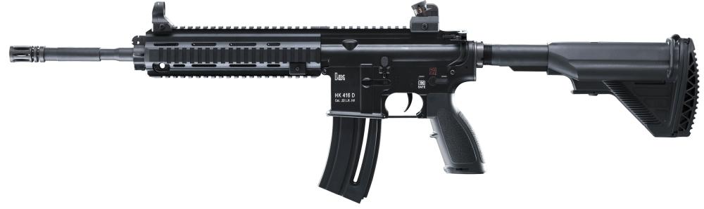 H&K Rimfire 416 Semi-Automatic 22 Long Rifle 20+1 Capacity 1