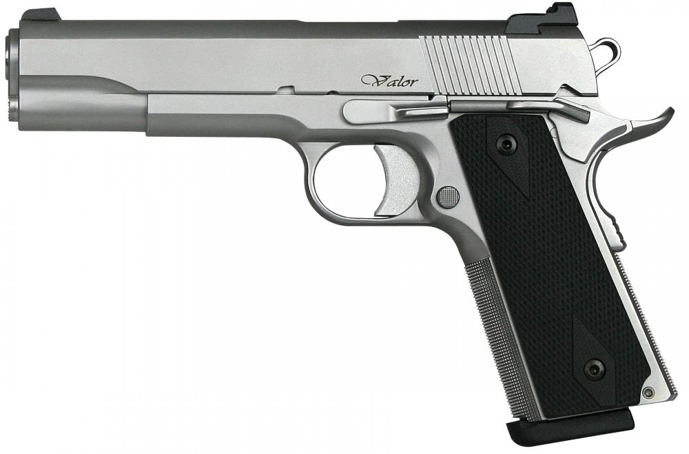 CZ-USA 01986 Dan Wesson 1911 Valor 8+1 45ACP 5