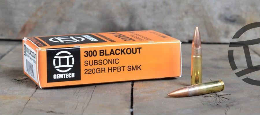 GEMTECH 300BLK 220GR SUBSONIC 20/500