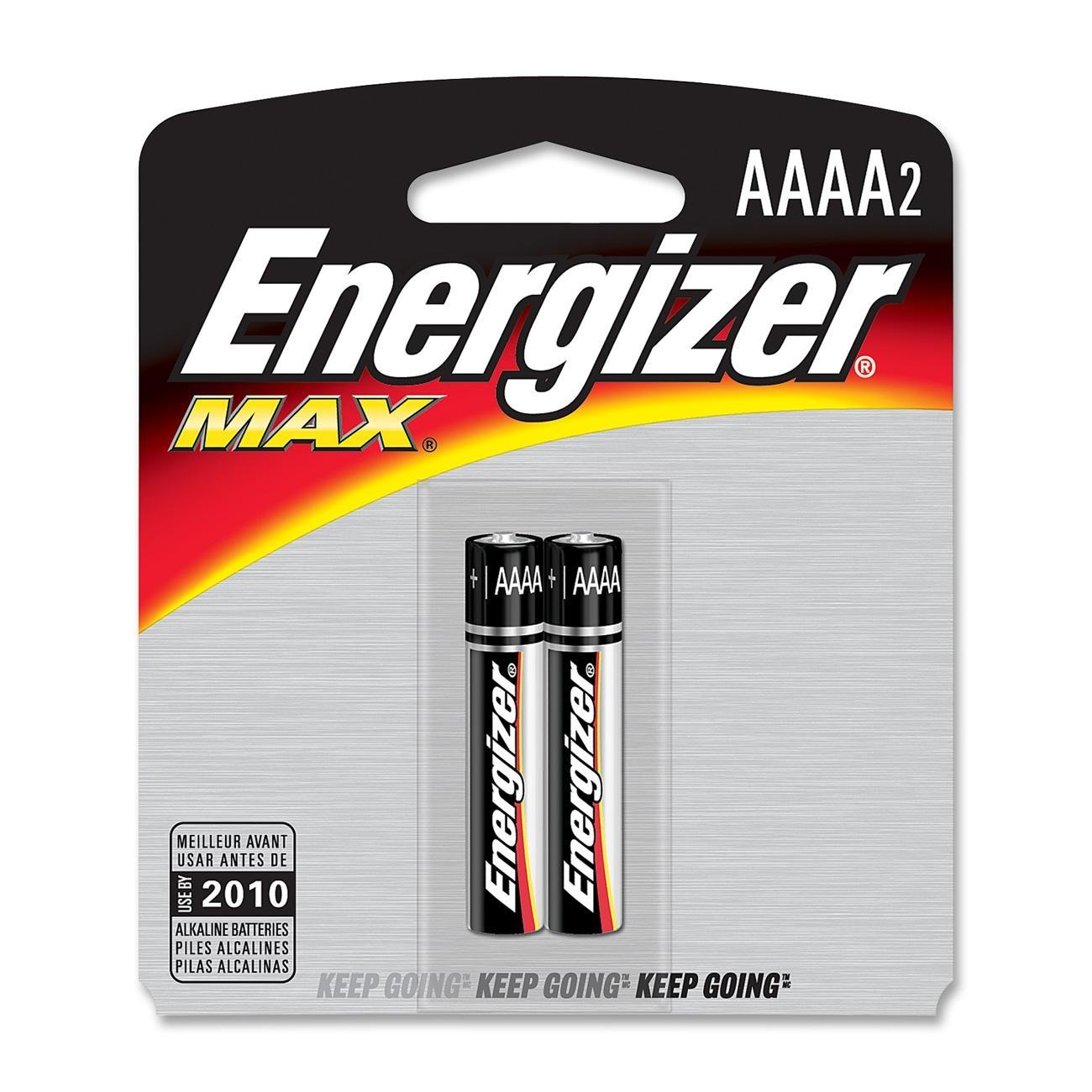 2 Pk, AAAA Energizer Max Batte...