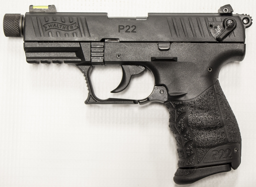 used walther p22 threaded barrel 294 00