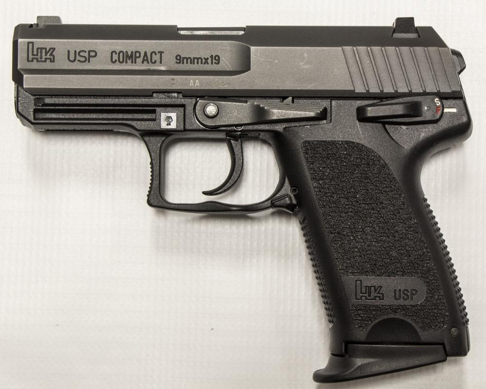 used Heckler & Koch USP Compact 9mm 10rd $617.00