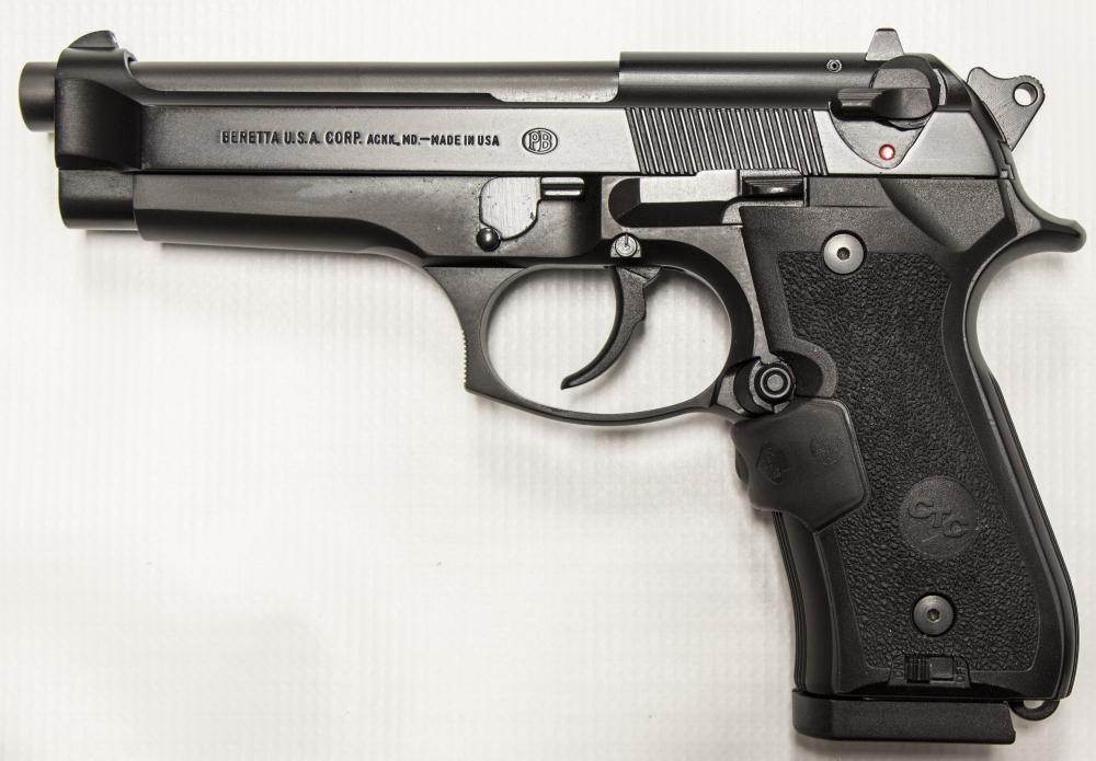 used Beretta 92FS Crimson Trace