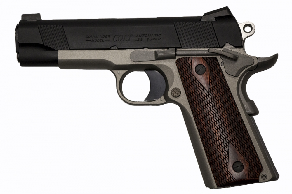 used Colt Commander Custom Carry  38 Super Talo