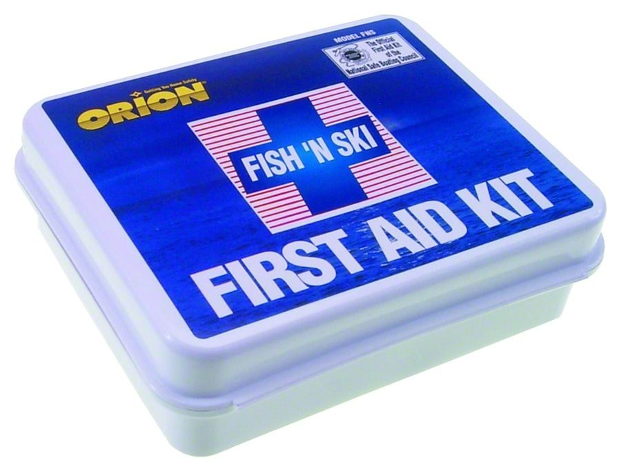 Fish-n-ski First Aid Kit 74 Pieces