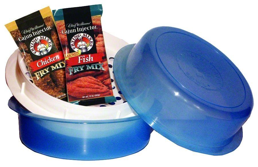 Cajun injector batter bowl for Fish batter bowl