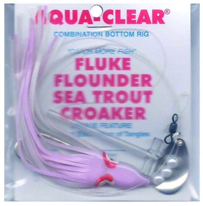 Hoochie Squid Skirt Pearls-large Nickel Spoon