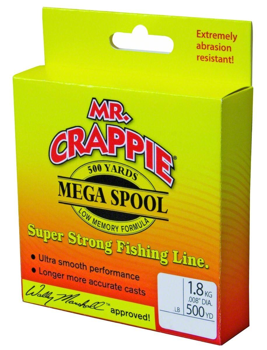 Mr Crappie Mega Spool Line