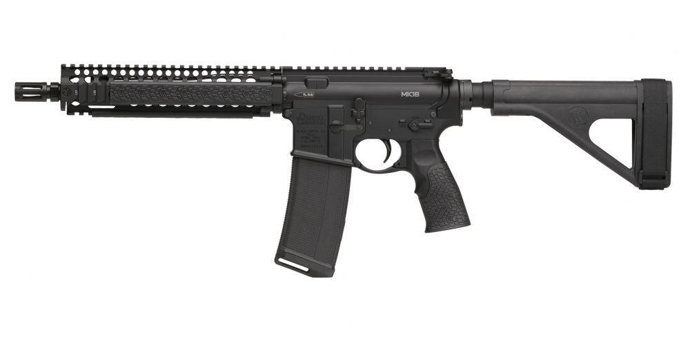 DAN M4 MK18 5 56 10 3 BLK 30