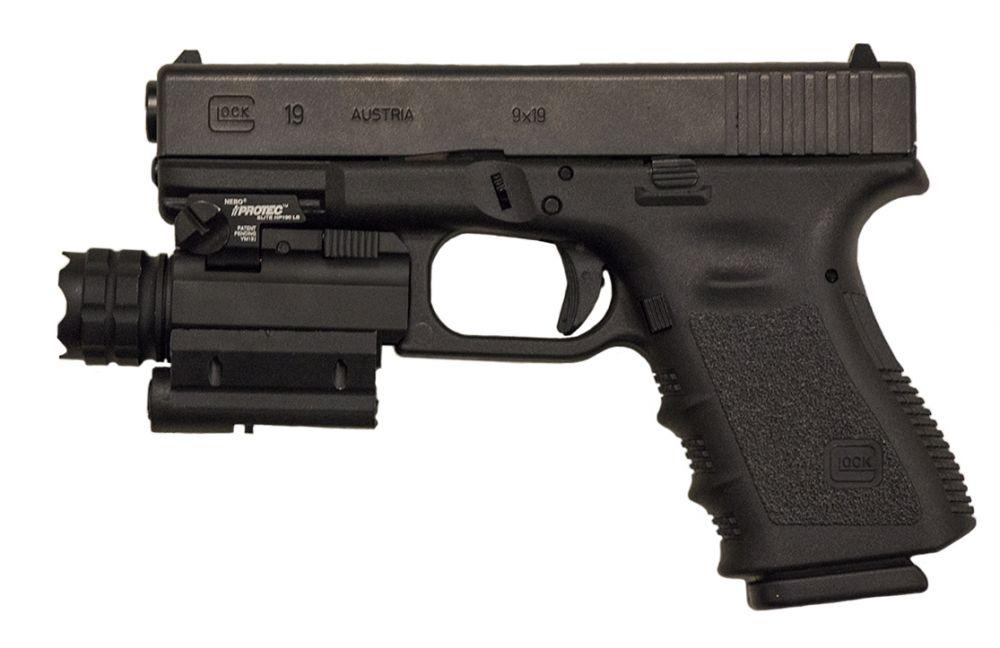 Elegant Used Glock 19 3rd Gen Light/Laser Images