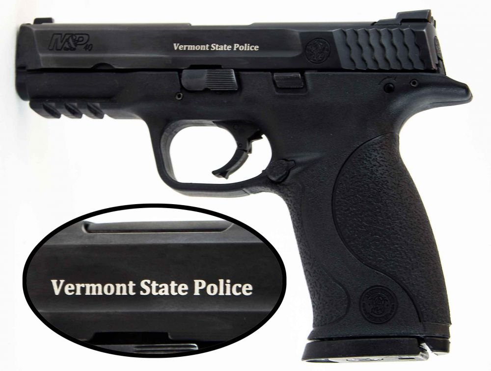 used s w m p40 ns police vermont state police 3 mags ns 300 00 rh budsgunshop com police firearms manual of guidance police firearms manual
