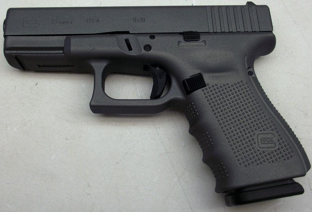 Used Glock 19 Gray Gen 4 9mm 539 00